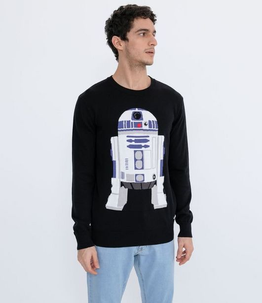 Oferta de Suéter com Estampa Star Wars  por R$59,9