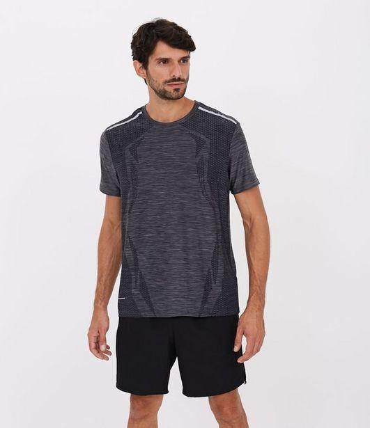 Oferta de Camiseta Esportiva Mescla com Proteção UV  por R$19,9