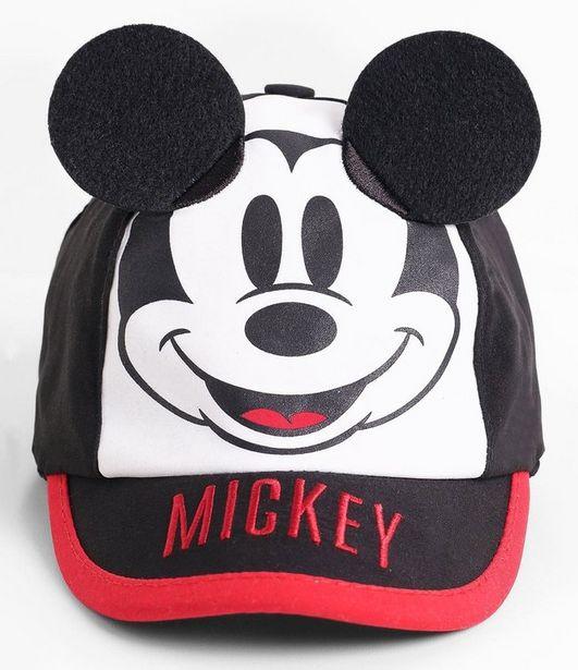 Oferta de Boné Estampado Mickey com Orelhas  por R$9,9