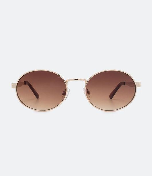 Oferta de Óculos de Sol Masculino Modelo Redondo  por R$49,9