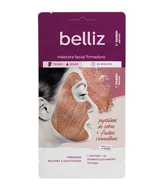 Oferta de Máscara Facial Firmadora com Cobre Belliz  por R$9,9