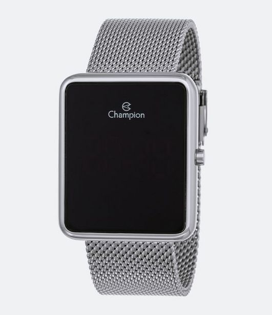 Oferta de Relógio Unissex Champion CH40080T Led Digital 3ATM  por R$199,9