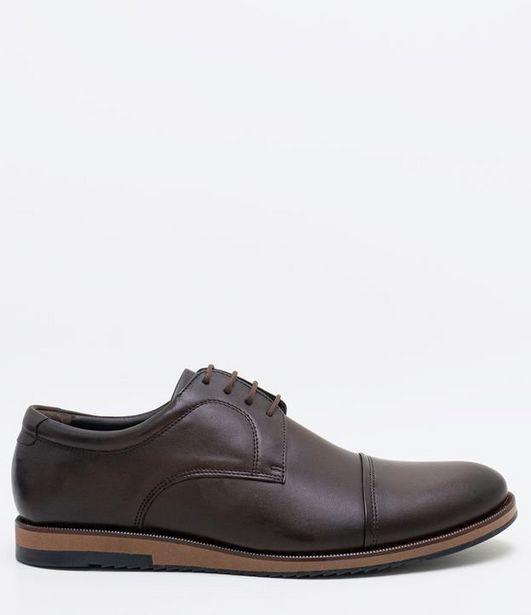 Oferta de Sapato Masculino Casual em Couro  por R$99,9