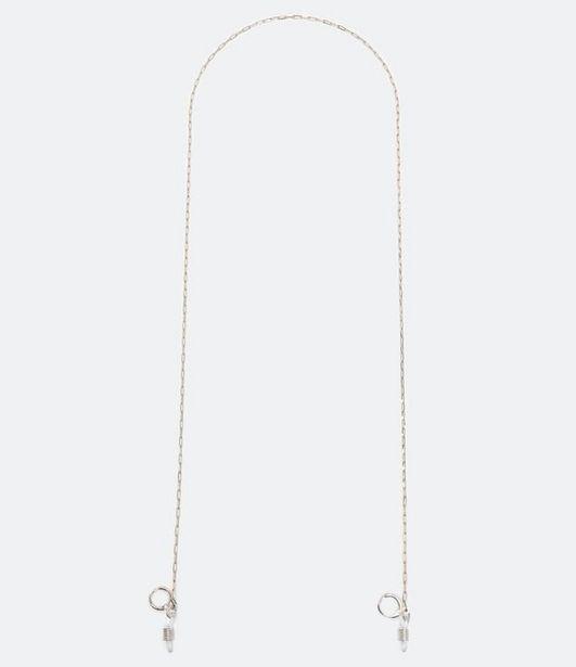 Oferta de Cordinha de Óculos em Metal Corrente Fina  por R$29,9