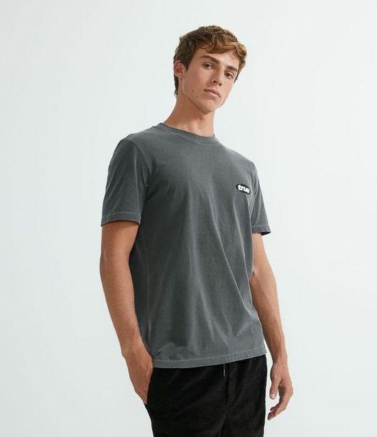 "Oferta de Camiseta Manga Curta ""True""  por R$29,9"