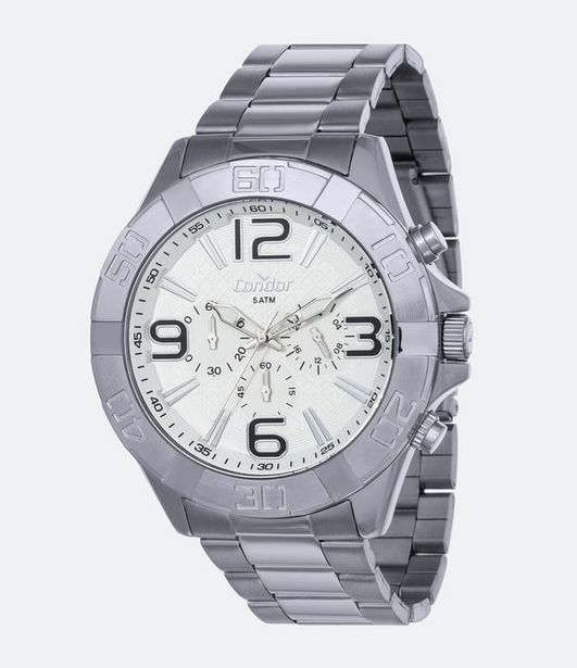 Oferta de Relógio Masculino Condor COVD54BC/3K Analógico 5ATM  por R$199,9
