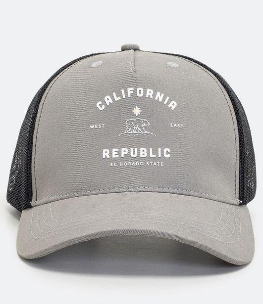 Oferta de Boné Masculino Estampa Urso California  por R$29,9