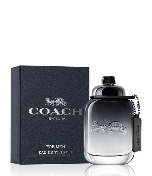 Oferta de Perfume Coach Men Eau de Toilette  por R$390,9