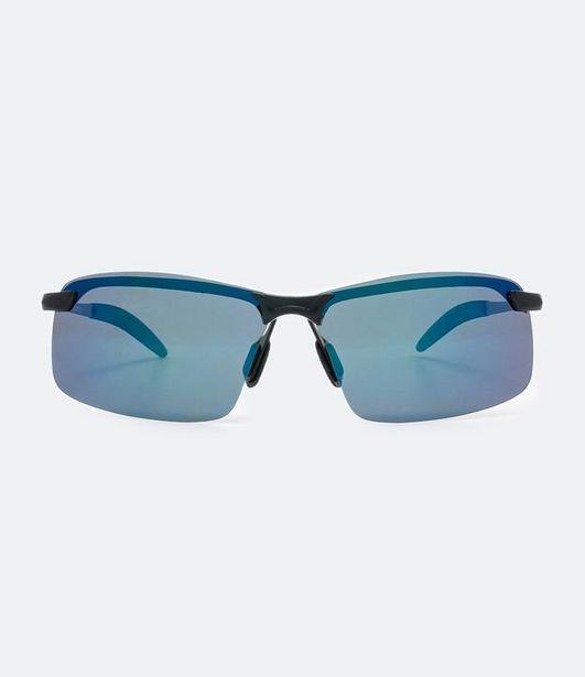Oferta de Óculos De Sol Masculino Modelo Esportivo  por R$59,9