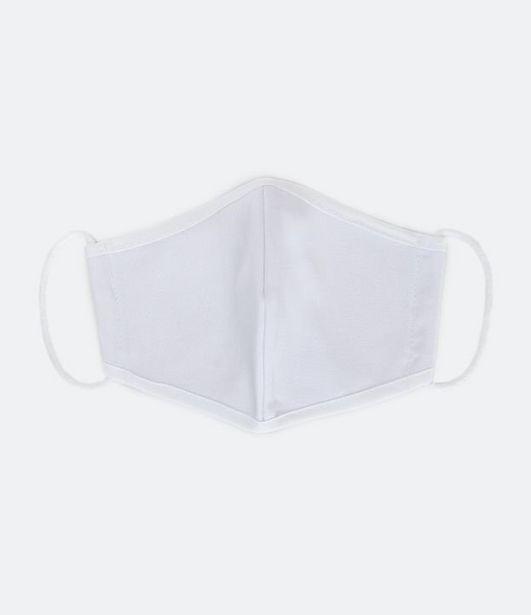 Oferta de Máscara de Tecido Liso  por R$1,9