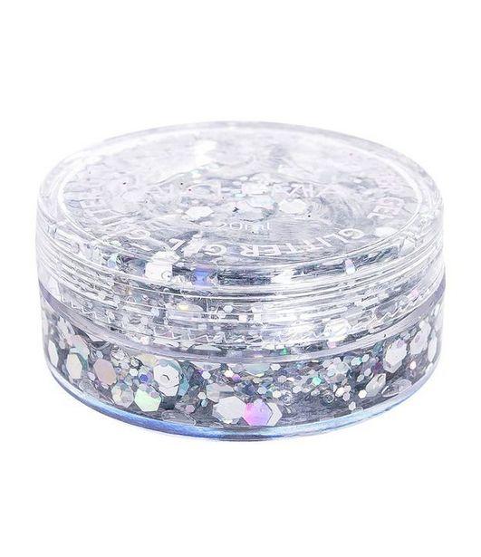 Oferta de Glitter em Gel Alchemia Prata  por R$5,9