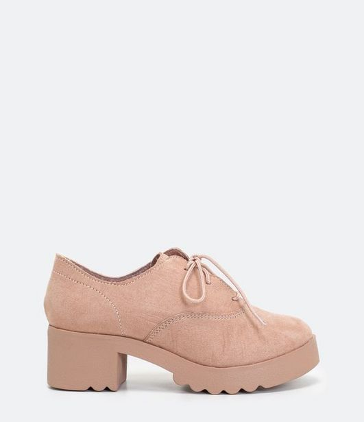 Oferta de Sapato Infantil Oxford em Fake Suede - Tam 29 ao 36  por R$49,9