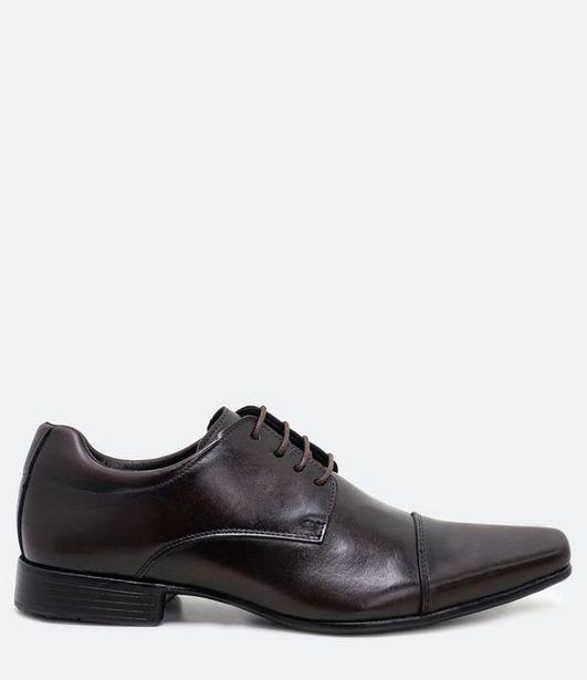 Oferta de Sapato Social Masculino em Couro  por R$55,96