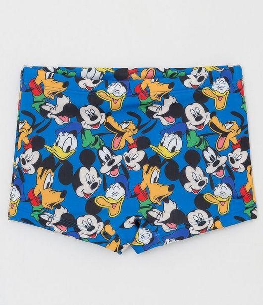 Oferta de Sunga Infantil Estampas Mickey e Amigos - Tam 1 a 4  por R$19,9