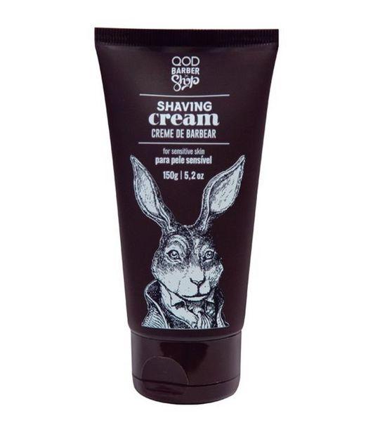 Oferta de Creme de Barbear QOD Barber Shop Shaving Cream  por R$19,9