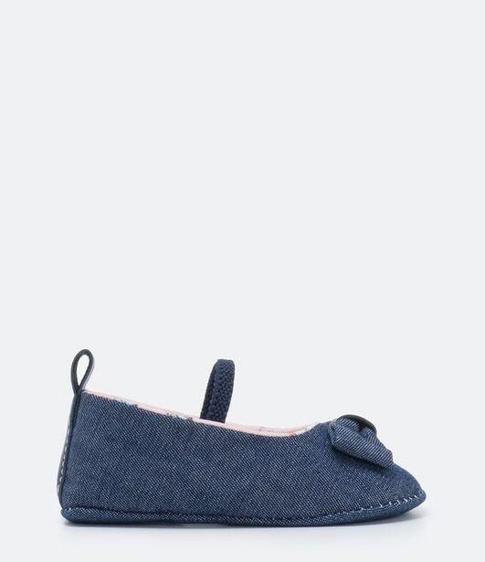 Oferta de Sapatilha Infantil em Jeans Teddy Boom -Tam 14 a 19  por R$19,9