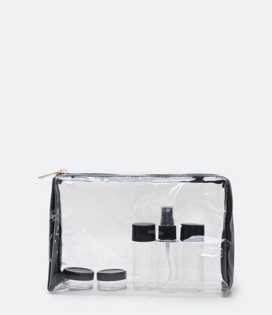 Oferta de Kit Viagem com Estampa de Marmore  por R$29,9