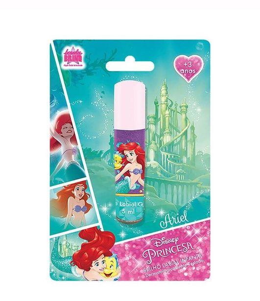 Oferta de Brilho Labial Infantil Princesa Ariel - Disney  por R$13,5