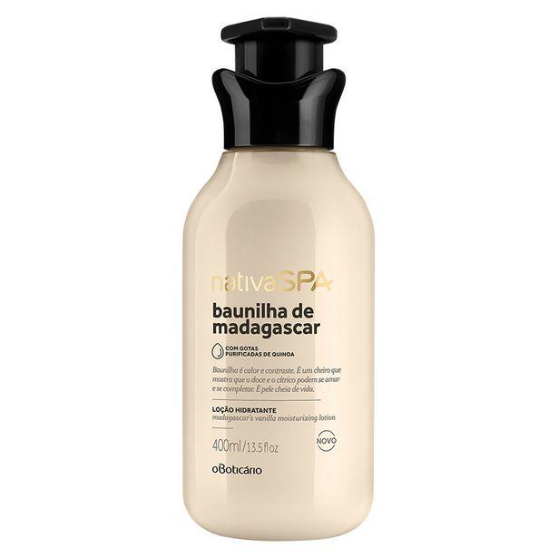 Oferta de Loção Hidratante Desodorante Corporal Baunilha de Madagascar 400ml por R$41,9
