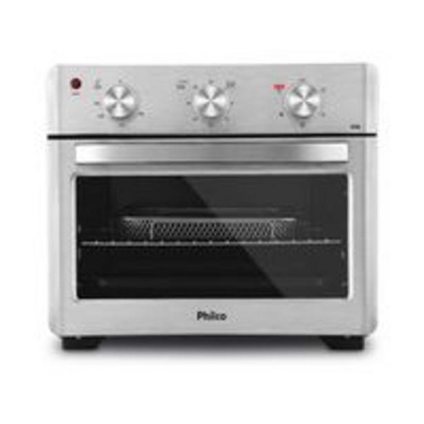 Oferta de Forno Elétrico Philco Air Fryer 25 Litros Pfe25l Prata por R$899,99