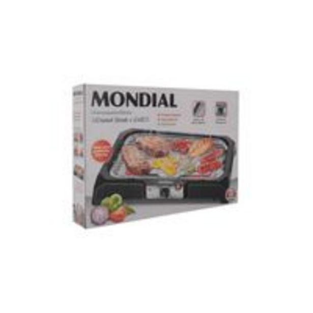 Oferta de Churrasqueira Elétrica Mondial Ch05 Preta por R$139,99