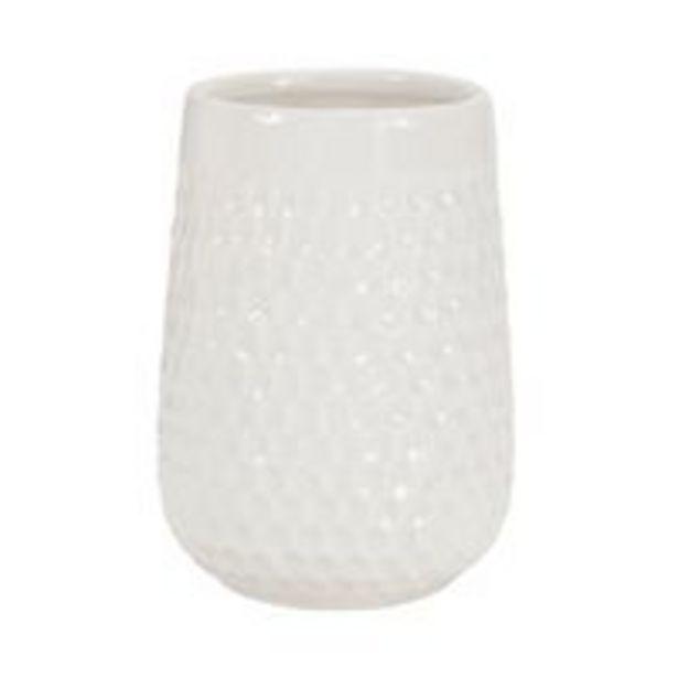 Oferta de Organizador Le Porcelana Classic Branco por R$14,99