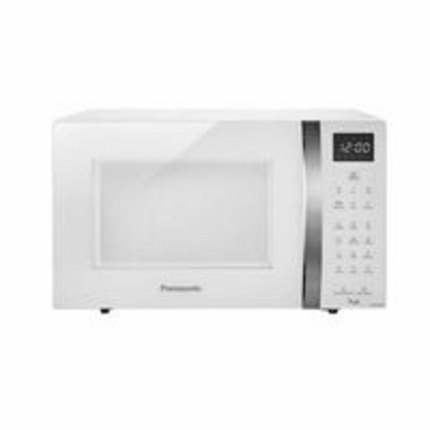 Oferta de Micro-Ondas Panasonic Style 32 Litros St65 Branco por R$599,99