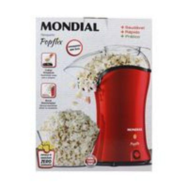 Oferta de Pipoqueira Mondial Popflix Pp-03 Vermelha por R$149,99