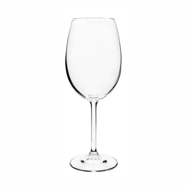 Oferta de Jogo de Taças Para Vinho Tinto em Cristal Ecológico Bohemia Gastro 450ml 6 Peças por R$149,99