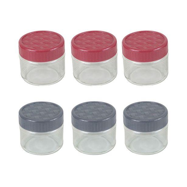 Oferta de Conjunto de Potes Le Spice de Vidro com 3 Peças 300ml - Item Sortido por R$24,99