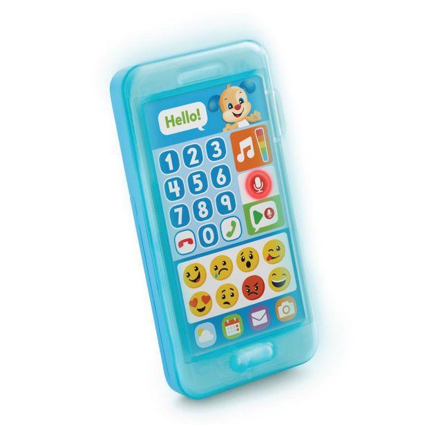 Oferta de Telefone Emojis Aprender e Brincar - TELEFONE EMOJIS AZUL por R$179,99