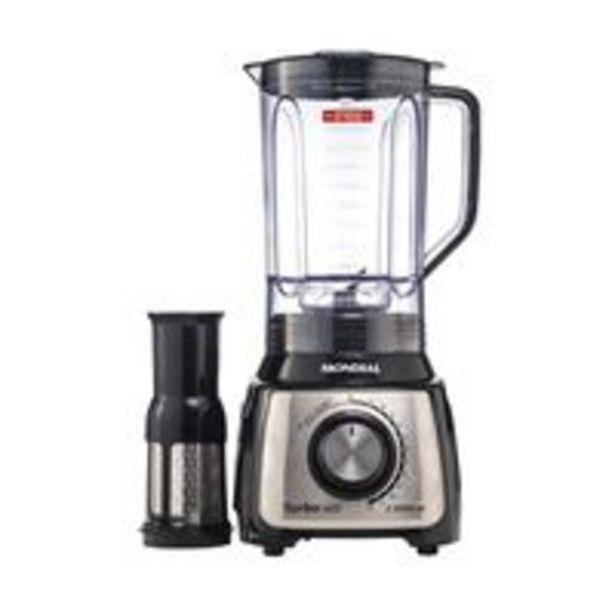 Oferta de Liquidificador Mondial L-1200 Bi Preto por R$139,99