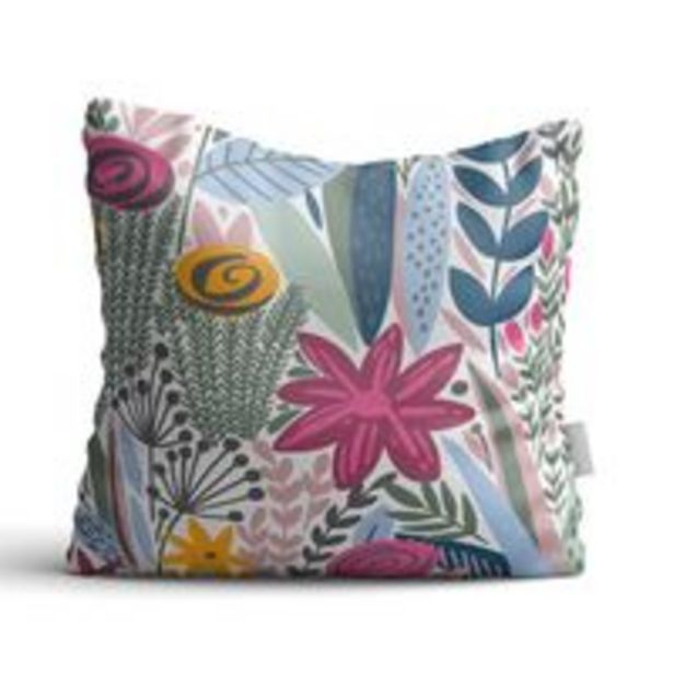 Oferta de Almofada Le 45x45cm Bazaar Floral por R$24,99
