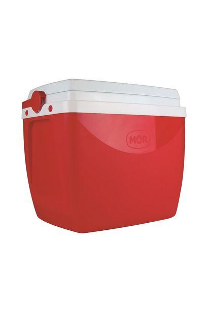 Oferta de Caixa Térmica Mor 18l Vermelha por R$69,99