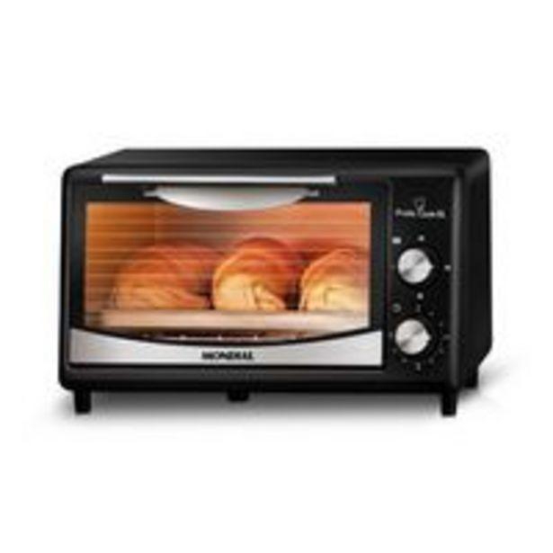 Oferta de Forno Elétrico Mondial Pratic Cook 6 Litros Fr-09 Preto por R$174,9