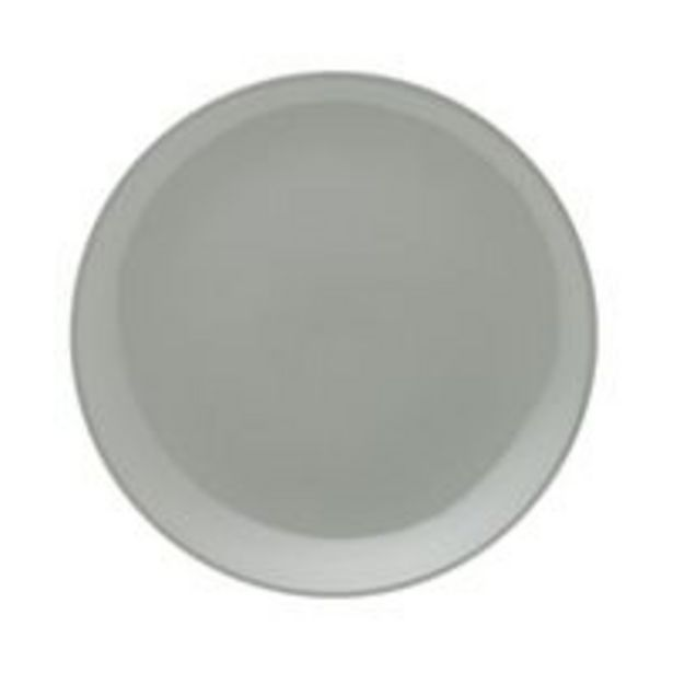 Oferta de Prato Raso Oxford Unni Grey 26cm por R$15,29