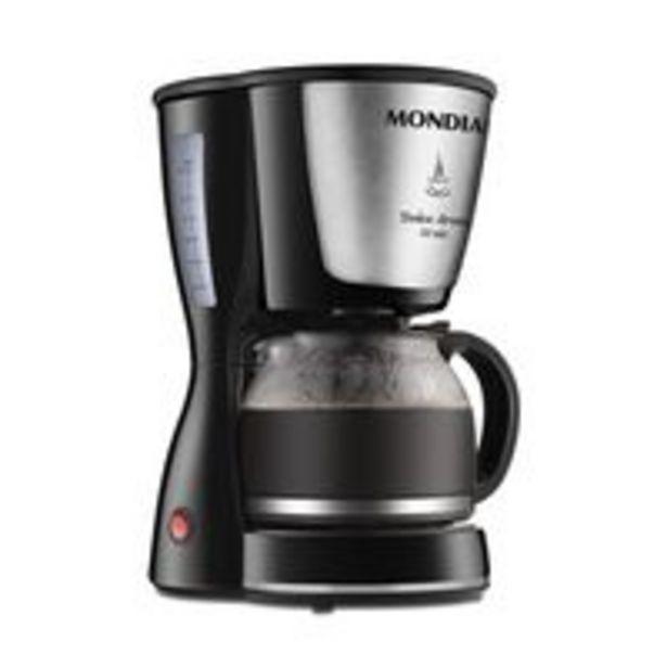 Oferta de Cafeteira Mondial Dolce Arome C32-32x Inox por R$99,99