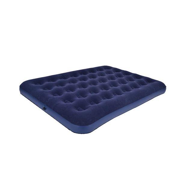 Oferta de Colchão Inflável Casal Azul por R$159,99
