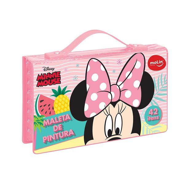 Oferta de Maleta Pintura Molin Minnie com 42 Peças  - Item Sortido por R$29,99