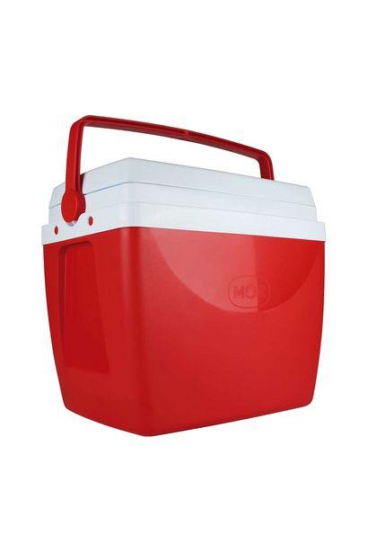 Oferta de Caixa Térmica Mor 34l Vermelha por R$99,99