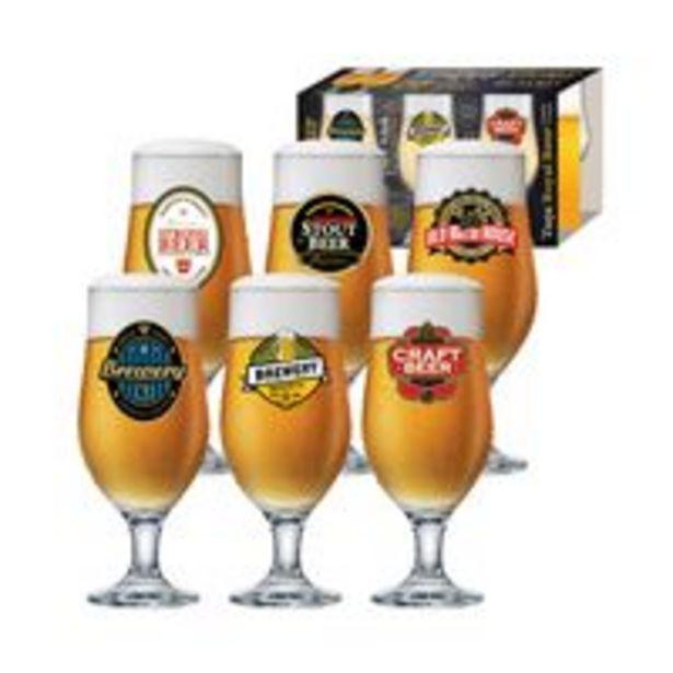 Oferta de Jogo de Taçasruvolo Royal Beer com 6 Peças330ml por R$59,99