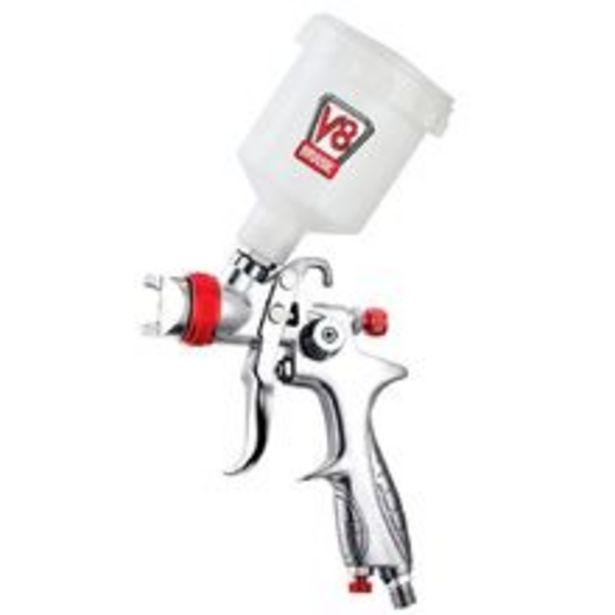 Oferta de Pistola De Pintura Tipo Gravidade Com Bico De 0.8 Mm - Ppk4 - V8 Brasil por R$149,9