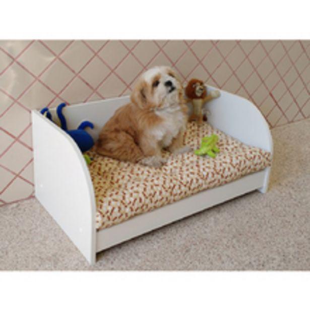 Oferta de Berço Cama Pet Para Cães E Gatos Com Colchão Pequeno E Médio Porte por R$282