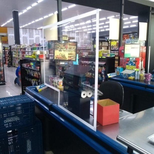 Oferta de Barreira De Proteção Para Supermercado por R$189,9