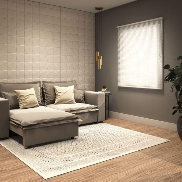 Oferta de Persiana Horizontal PVC Block Branca 1,40x1,60m por R$203,26