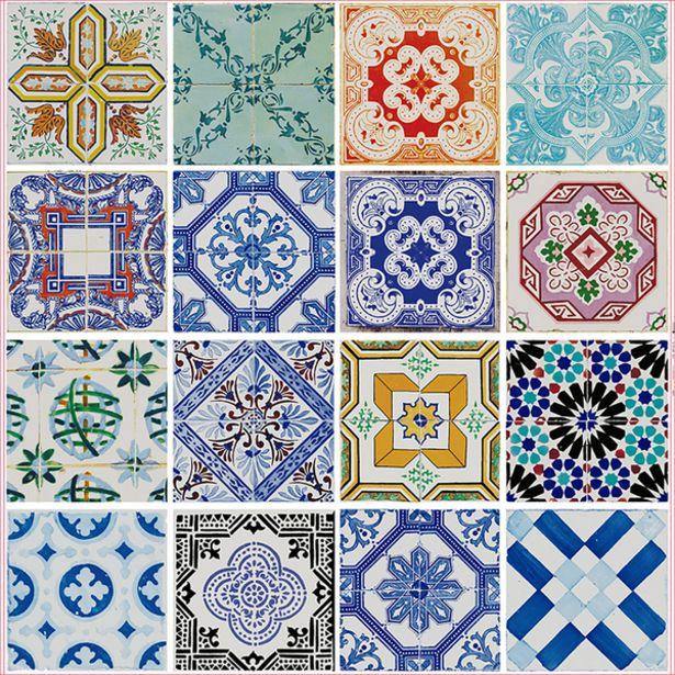 Oferta de Adesivo de Azulejo Colorido 45x200cm Con-Tact por R$35,9