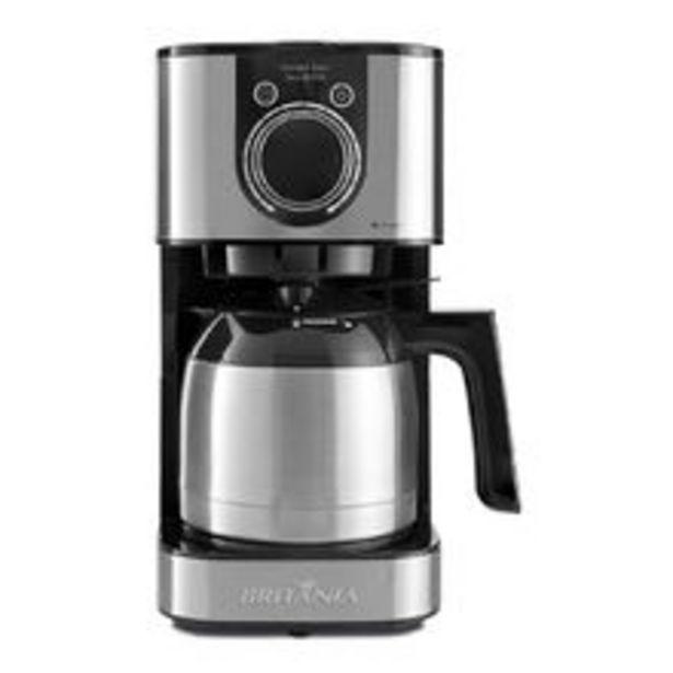 Oferta de Cafeteira Britânia Concept Touch Inox Bcf39i 220v por R$399,9