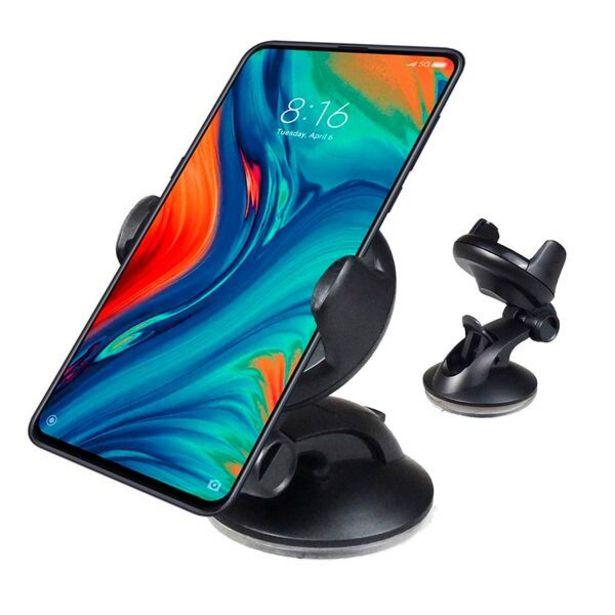 Oferta de Mini Suporte Veicular Universal Para Celulares E Gps Automático Painel E Vidro por R$30,56