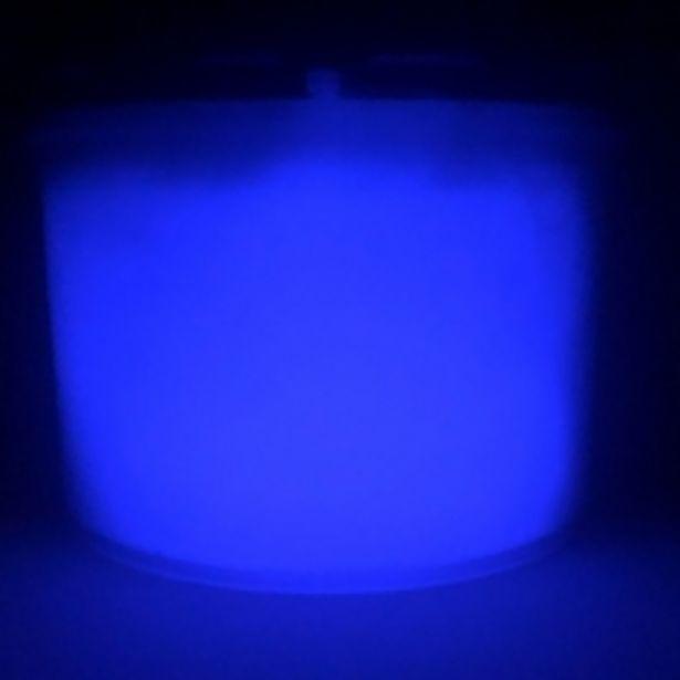 Oferta de 900ml Tinta Glow Corion Luminescente. Brilha No Escuro Sem Luz Negra  Roxo Neon por R$990