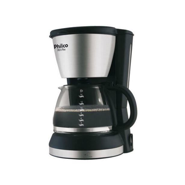 Oferta de Cafeteira Philco Ph14 Plus 14 Cafezinhos 220v por R$109,9
